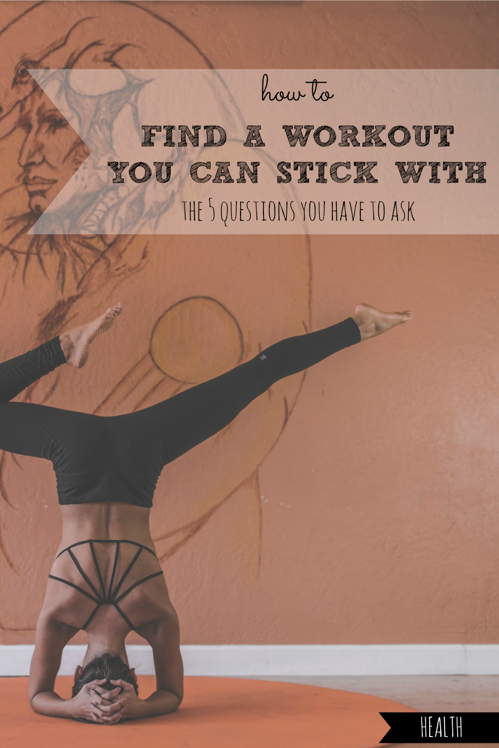 Ever struggle to find a workout that you don't want to quit after 3 days? Here's how to use just 5 questions to finally find a workout you can stick with TODAY! #find #a #workout #workouts #exercise #exercises #activity #activities #active #sport #sports #tip #tips #routine #routines #location #affordable #affordability #effective #effectiveness