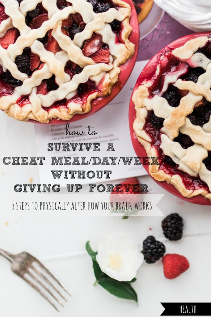 How to Survive a Cheat Meal/Day/Week Without Giving Up Forever | 5 Steps to Physically Alter How Your Brain Works