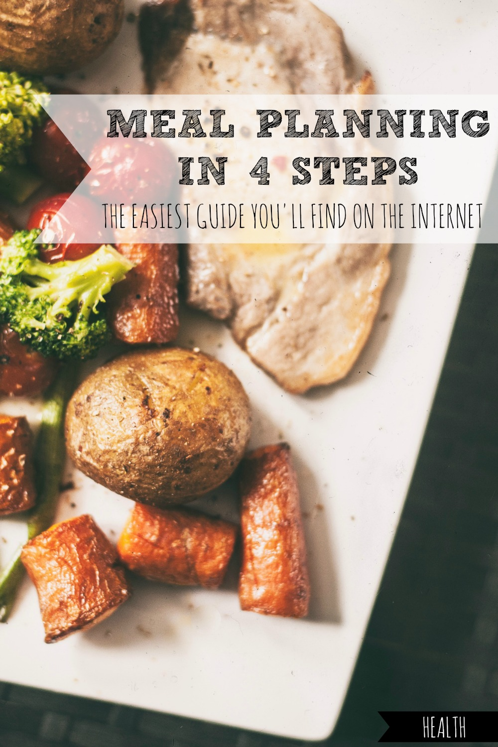 Does just the idea of meal planning make your palms sweat? Here's the easiest guide you'll find on the internet, with nothing too fancy or intimidating, that you can try TODAY! #meal #planning #easy #easiest #guide #guides #plan #plans #planner #waste #food
