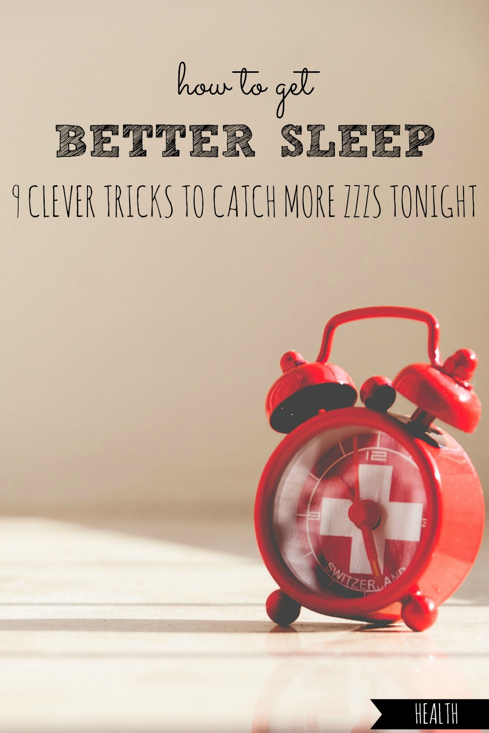 Ever have trouble falling and staying asleep? Here are 9 clever tricks that you can try today, to enjoy longer and better sleep TONIGHT! #better #sleep #sleepy #sleeping #tired #night #nights #nighttime #nap # naps #naptime #napping #good #rest #resting