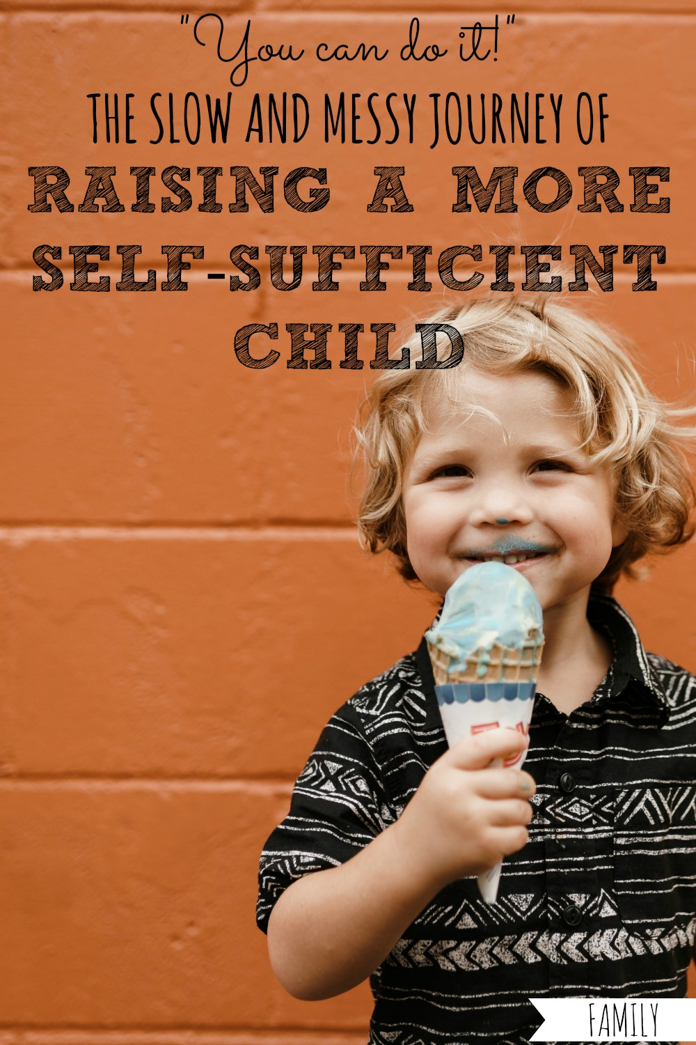 Want to raise a more self-sufficient child? Here's how I'm encouraging my toddler to try more things on her own, and building her confidence along the way! #self #sufficient #self-sufficient #confident #confidence #independent #independence #child #children #kid #kids #raising #toddler #toddlers #parent #parents #parenting #parenthood #slow #messy #frustrating #journey