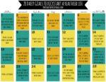 28 Daily Goals to Kickstart a Healthier Life