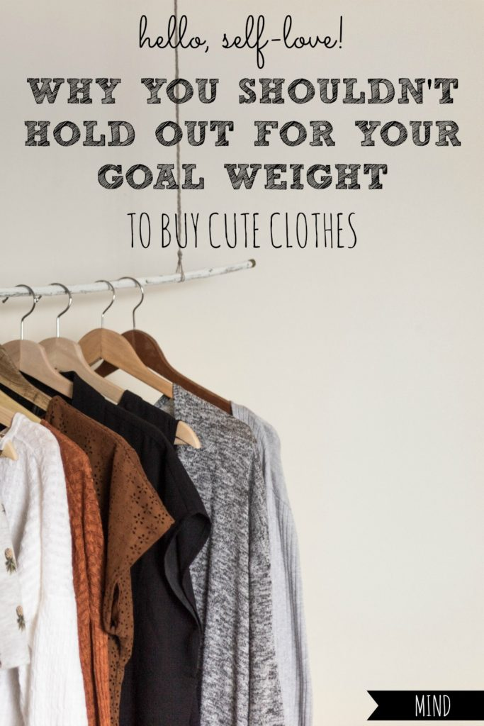 Pre-Baby Clothes | Don't Hold Out For Your Goal Weight to Buy Cute Clothes