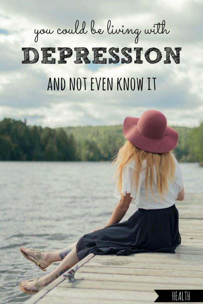 You Could Be Living With Depression and Not Even Know It