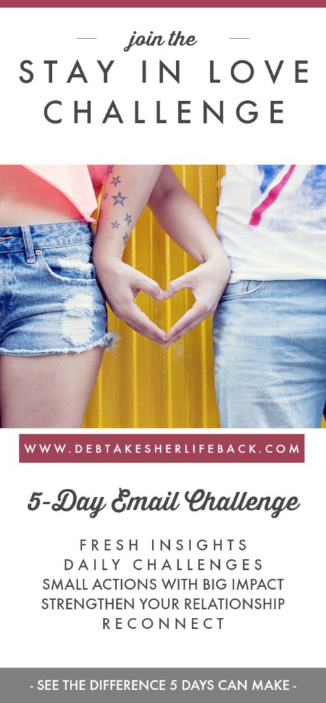 Stay in Love Challenge Sign-Up