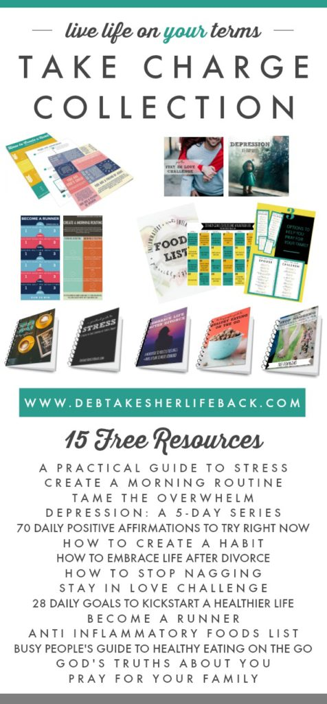 Take Charge Collection | 15 Free Resources to Live Life on Your Terms