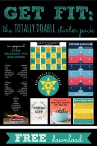Get Fit: The Totally Doable Starter Pack | Free Download