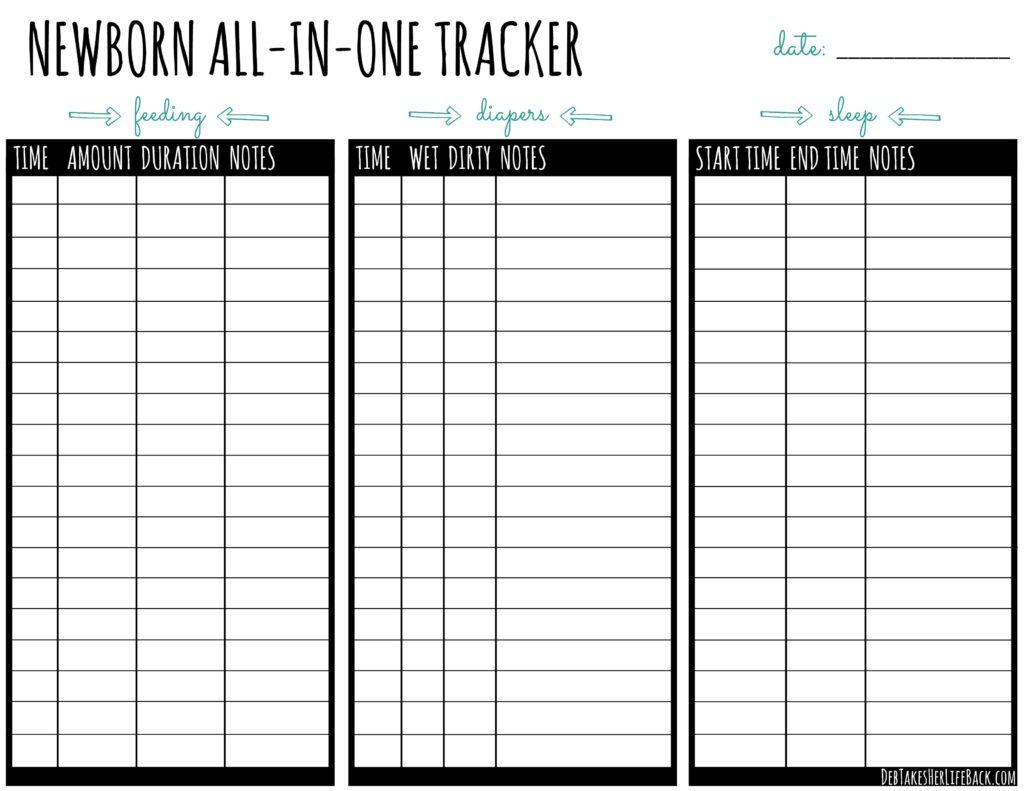 Newborn All-in-One Tracker
