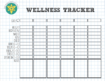Easy-to-Use Wellness Tracker | Free Download
