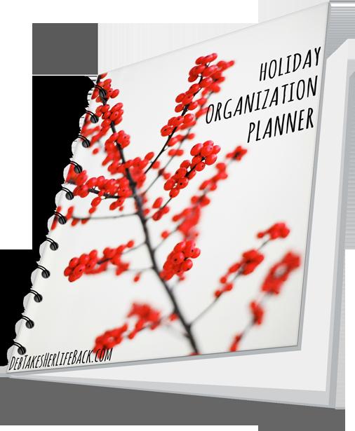 Holiday Organization Planner | Free Workbook Download
