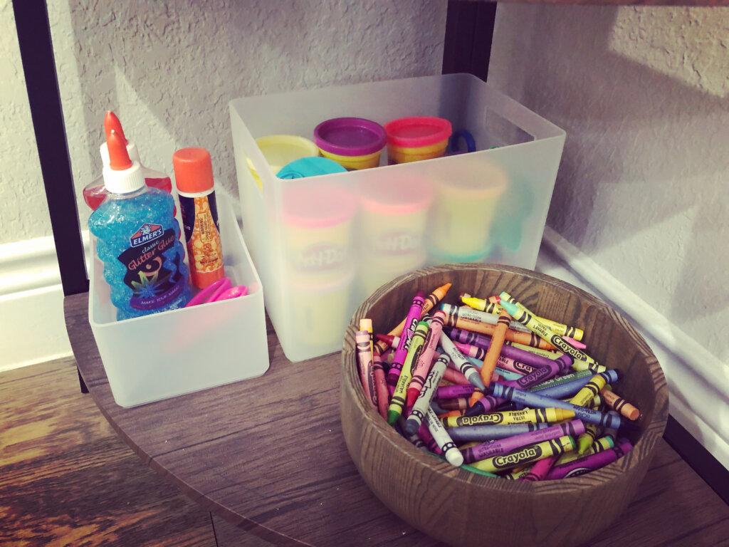 Kids Craft Corner | 7 Ways to Encourage Creativity Without Sacrificing Your Home Decor